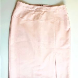 White House Black Market Pink Pencil Skirt